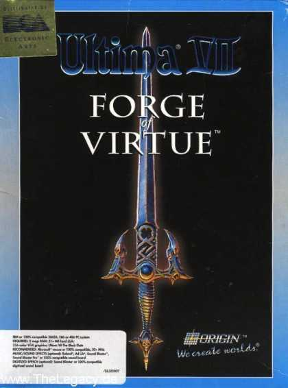 Misc. Games - Ultima VII: The Forge of Virtue