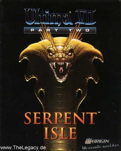 Misc. Games - Ultima VII Part Two: Serpent Isle