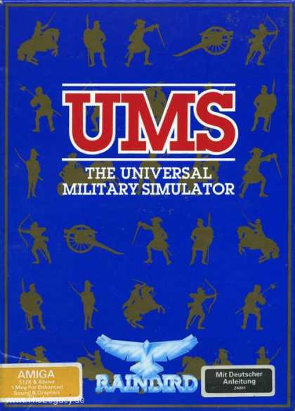 Misc. Games - UMS I: The Universal Military Simulator
