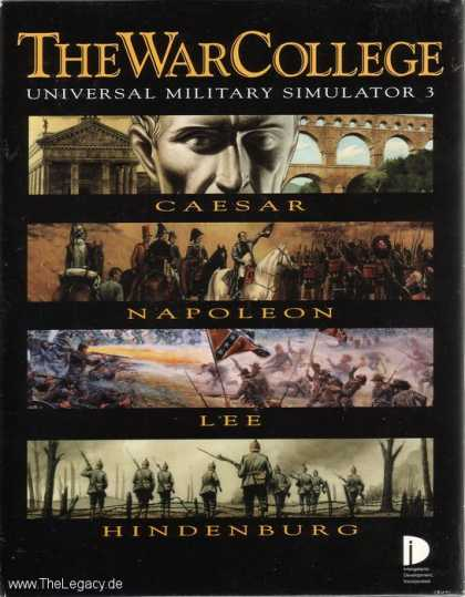 Misc. Games - War College, The: Universal Military Simulator 3