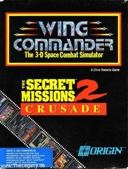 Misc. Games - Wing Commander: The Secret Missions 2 - Crusade