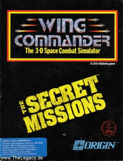 Misc. Games - Wing Commander: The Secret Missions