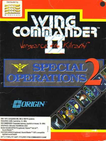 Misc. Games - Wing Commander II: Special Operations 2