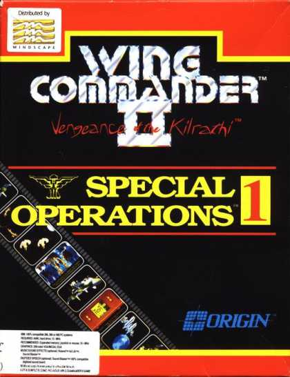 Misc. Games - Wing Commander II: Special Operations 1