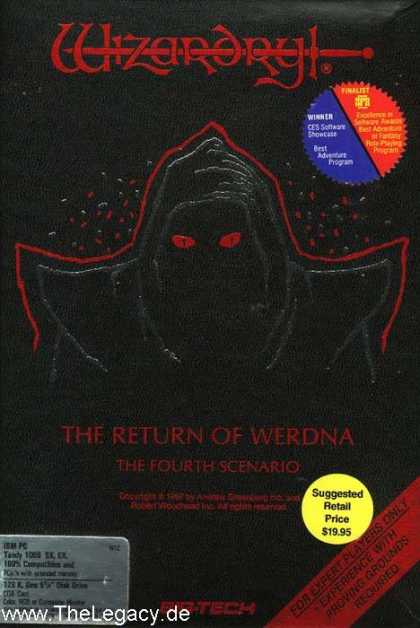 Misc. Games - Wizardry IV: Return of Werdna