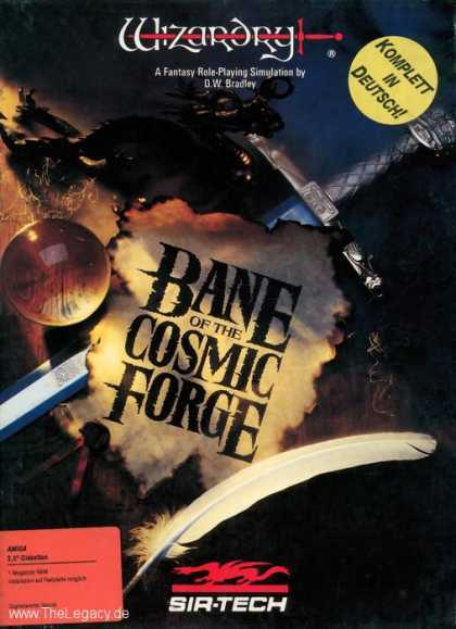 Misc. Games - Wizardry VI: Bane of the Cosmic Forge
