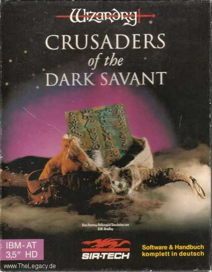 Misc. Games - Wizardry: Crusaders of the Dark Savant