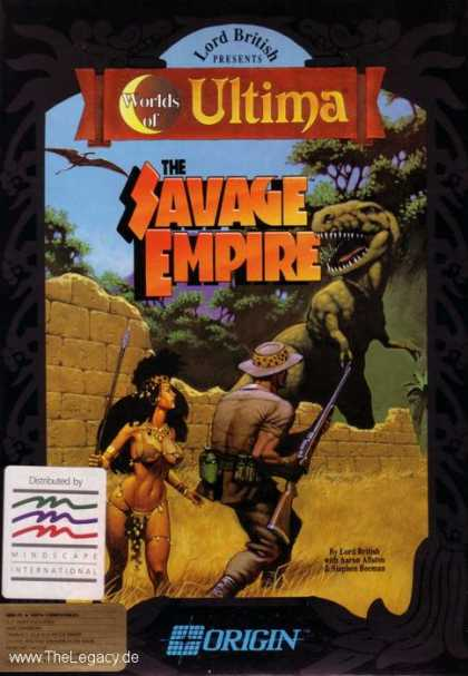Misc. Games - Worlds of Ultima - The Savage Empire