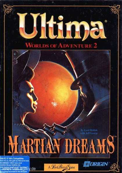Misc. Games - Ultima - Worlds of Adventure 2: Martian Dreams