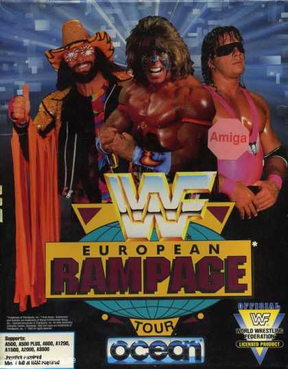 Misc. Games - WWF European Rampage Tour