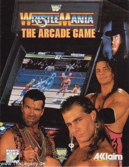 Misc. Games - WWF WrestleMania: The Arcade Game