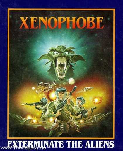 Misc. Games - Xenophobe: Exterminate the Aliens