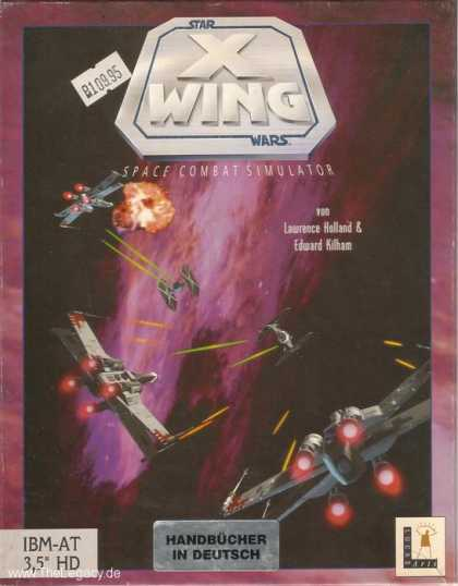Misc. Games - Star Wars - X-Wing: Space Combat Simulator