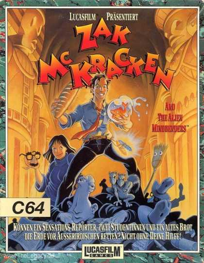 Misc. Games - Zak McKracken and the Alien Mindbenders