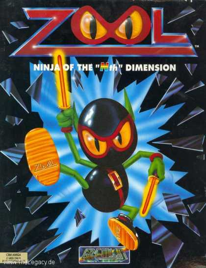 "Misc. Games - Zool: Ninja of the ""Nth"" Dimension"
