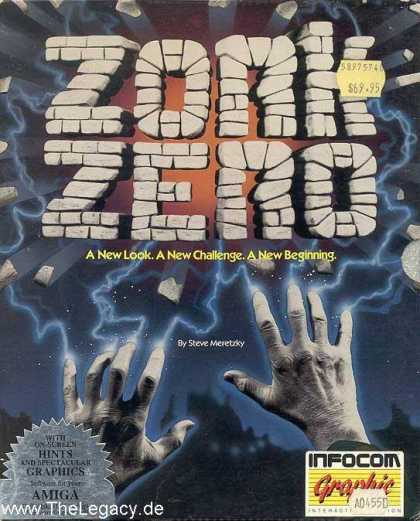 Misc. Games - Zork Zero: The Revenge of Megaboz