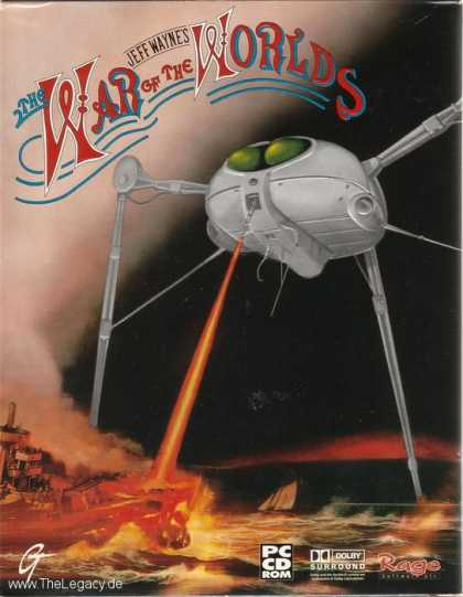 Misc. Games - Jeff Wayne's The War of the Worlds