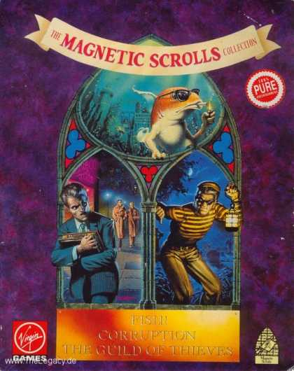 Misc. Games - Magnetic Scrolls Collection, The