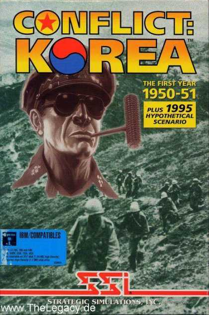 Misc. Games - Conflict: Korea the First Year 1950-1951