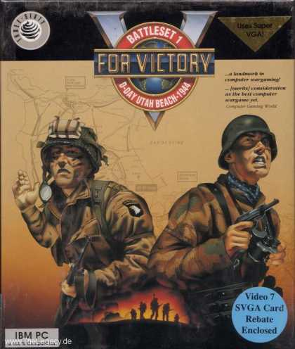 Misc. Games - V for Victory: D-Day Utah Beach 1944
