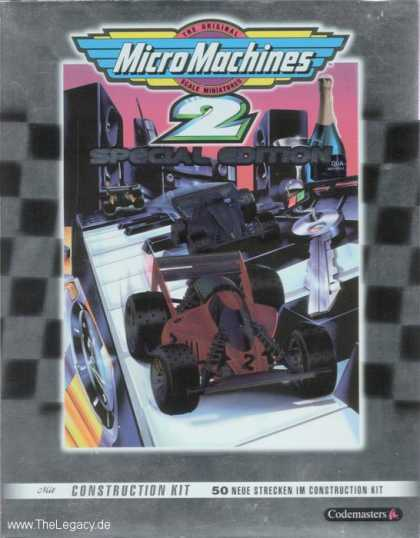 Misc. Games - MicroMachines 2 - Special Edition