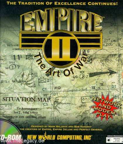 Misc. Games - Empire II: The Art of War