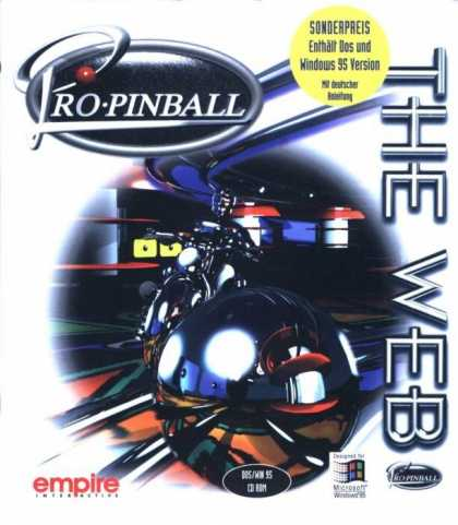 Misc. Games - Pro Pinball: The Web