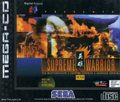 Misc. Games - Supreme Warrior