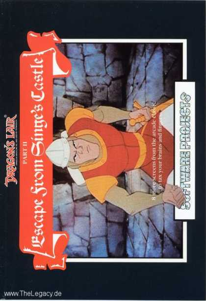 Misc. Games - Dragon's Lair: Escape from Singe's Castle