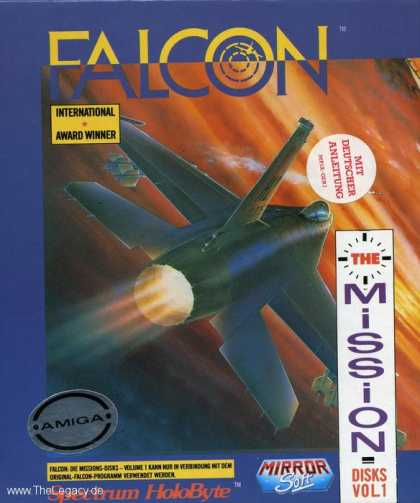 Misc. Games - Falcon: The F-16 Fighter Simulator The Mission Disks Vol 1