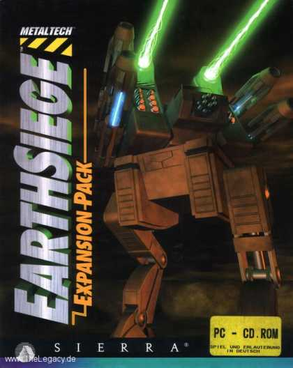 Misc. Games - Earthsiege: Expansion Pack