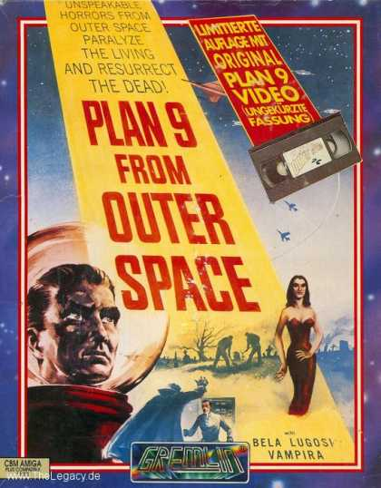 Misc. Games - Plan 9 from outer Space