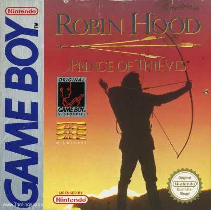 Misc. Games - Robin Hood: Prince of Thieves