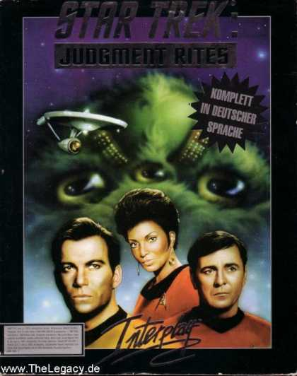 Misc. Games - Star Trek - The Judgment Rites