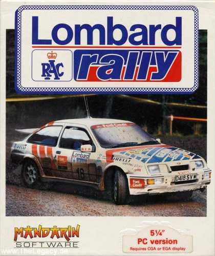Misc. Games - Lombard RAC Rally