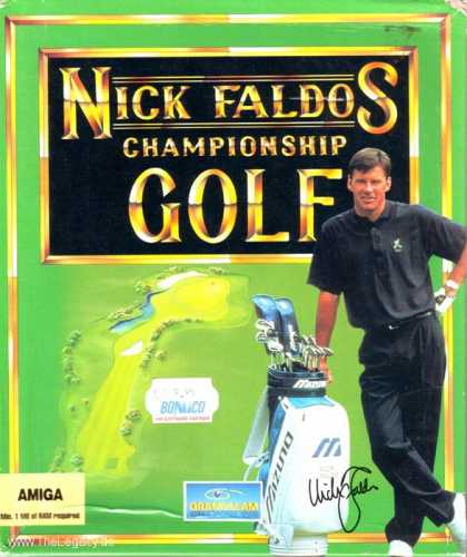Misc. Games - Nick Faldos Championship Golf