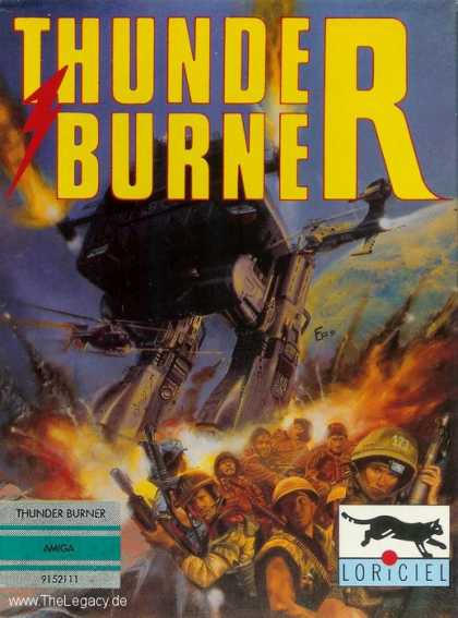 Misc. Games - Thunder Burner