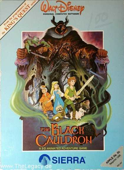 Misc. Games - Black Cauldron, The