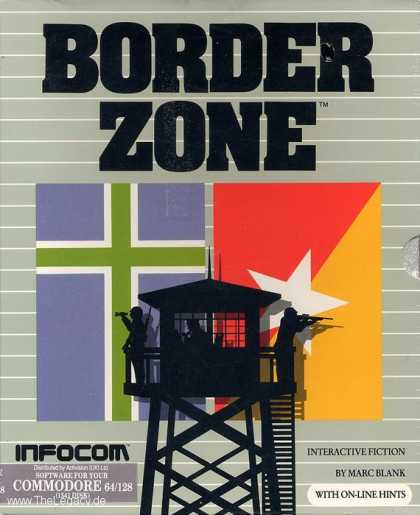 Misc. Games - Border Zone: A Game of Intrigue