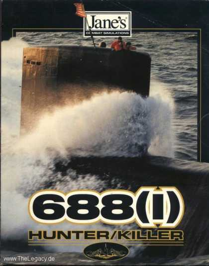 Misc. Games - Jane's Combat Simulations - 688 (i) Hunter Killer