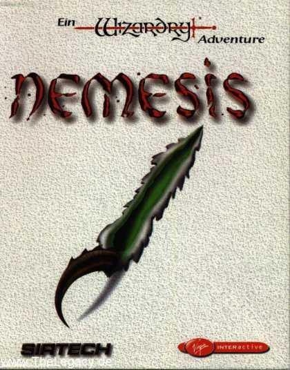 Misc. Games - Nemesis: A Wizardry Adventure