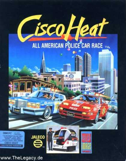 Misc. Games - Cisco Heat: All American Police Car Race
