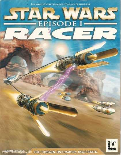Misc. Games - Star Wars Episode I - Racer