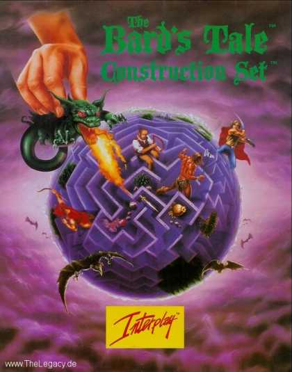 Misc. Games - Bard's Tale, The: Construction Set