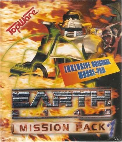 Misc. Games - Earth 2140: Mission Pack 1