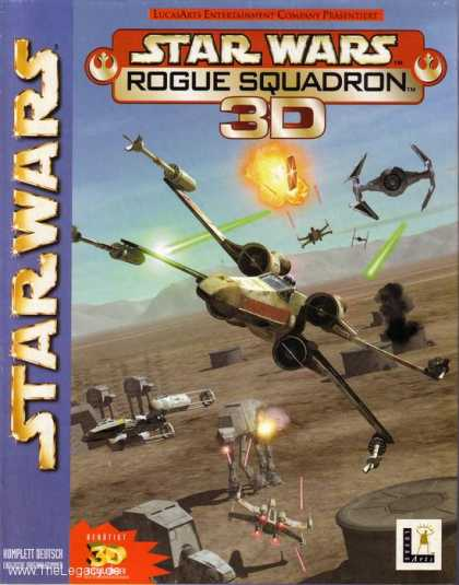 Misc. Games - Star Wars - Rogue Squadron 3D