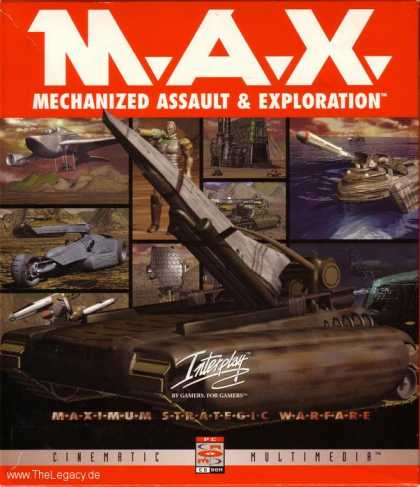 Misc. Games - M.A.X. : Mechanized Assault & Exploration