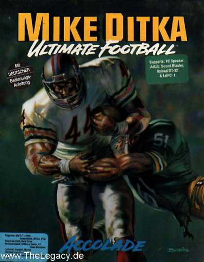 Misc. Games - Mike Ditka Ultimate Football