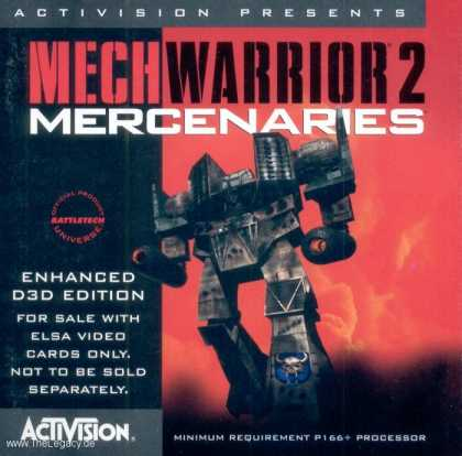 Misc. Games - MechWarrior 2: Mercenaries