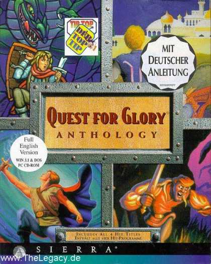 Misc. Games - Quest for Glory Anthology